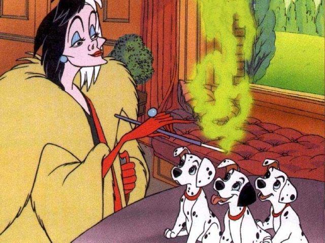 A Still from Disney's 101 Dalmatian