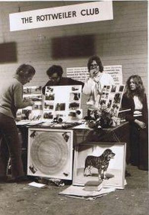 Rottweiler Crufts in Britain