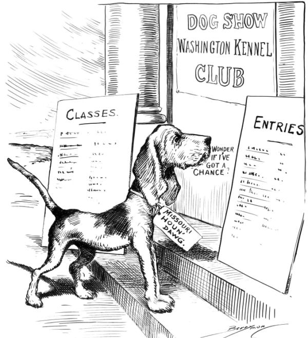 Caricature of An American Kennel Club